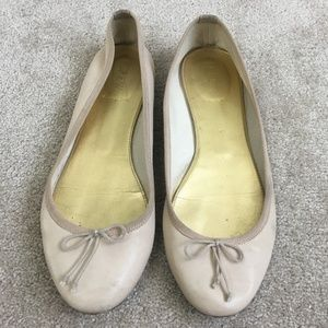 J.Crew blush leather ballet flats - 9